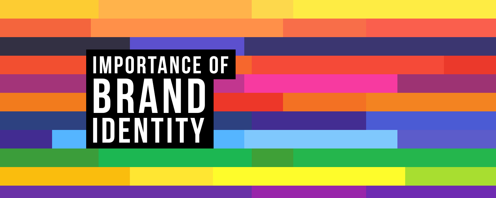 the importance of brand identity Why it's important to have a strong brand identity a well-designed brand identity rolls your company forward, increasing momentum in recognition.